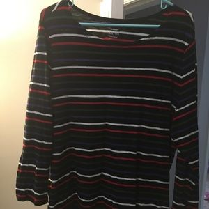 Old Navy Stripped Long Sleeve Shirt